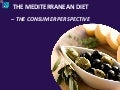 The Mediterranean Diet: The Consumer Perspective: Ipsos MORI
