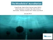 The minefield of_accreditation