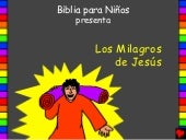 The miracles of jesus spanish pda