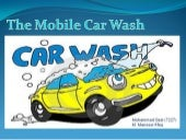 The mobile carwash presentation