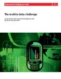 The Mobile Data Challenge (by Economist Intelligence)