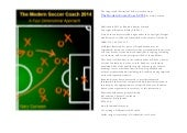 The modern soccer coach 2014 by gary curneen