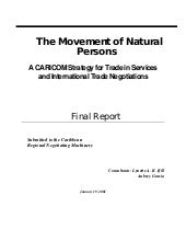 CRNM - The Movement Of Natural Persons