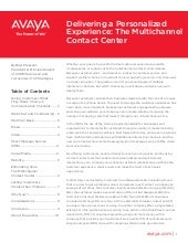 The multichannel contact_center