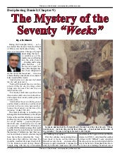 The Mystery of The Seventy Weeks - ...
