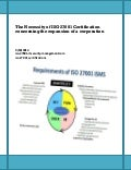 The Necessity of ISO 27001 Certification concerning the expansion of a corporation