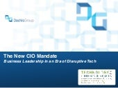The New CIO Mandate | ASAE Tech Con...