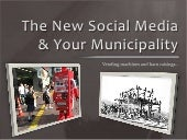The new social media and your munic...