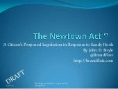 The newtown act™   a citizens propo...