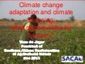 Climate change adaptation and climate financing: what opportunities for farmers?