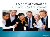 Theories of Motivation - Overview o...