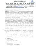 CBSE NCERT Homework Help Course Hero   pages Homework C on Theory of Computation