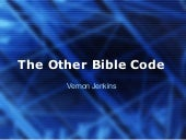 The Other Bible Code by Vernon Jenkins
