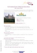The Paradores route of Ribera del Duero Wines