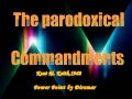 The Paradoxical Commandments