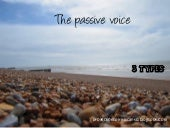 The passive voice bachillerato