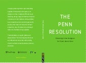 The Penn Resolution: Educating Urban Designers for Post-Carbon Cities