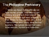 The philippine prehistory