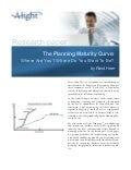 The Planning Maturity Curve by Rand Heer