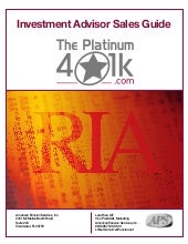 The Platinum 401k Advisor Sales Gui...