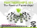 Power Of Partnerships| Bosco Anthony - Business Growth Strategist