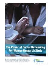 The powerofsocialnetworkingandwomen