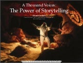 A Thousand Voices: The Power of Storytelling