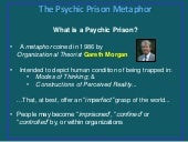 The Psychic Prison Metaphor