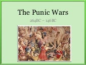 The Punic Wars Lecture