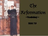 The Reformation Vocab
