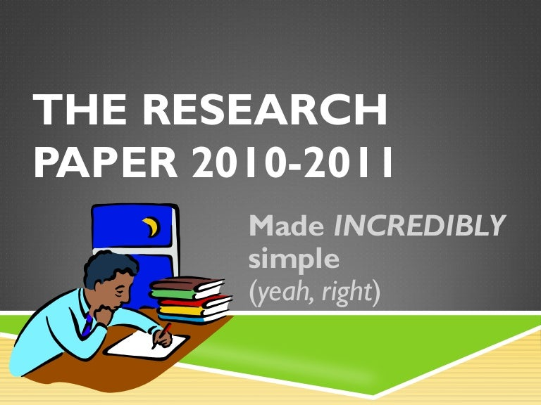Research paper on software engineering