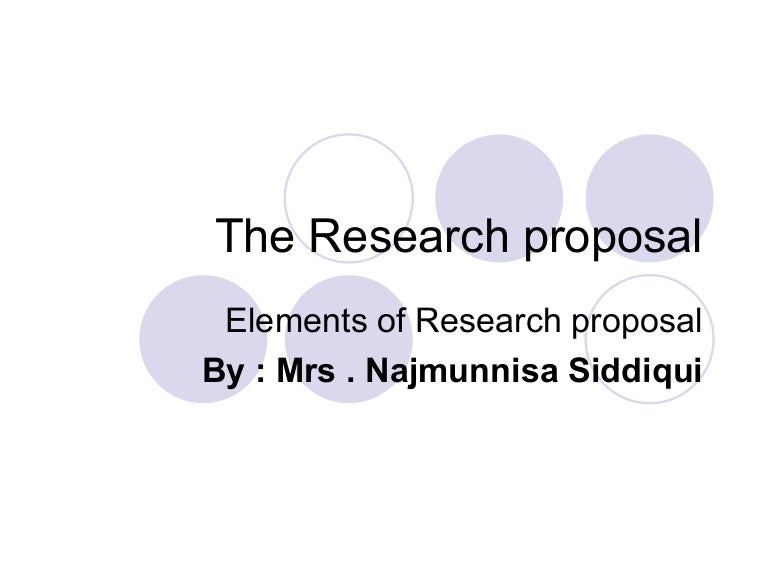 example of a research paper proposal apa format