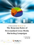 The Response Rates of Personalized Cross-Media Marketing Campaigns