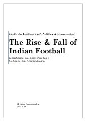 The Rise & Fall of Indian Football ...