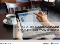 The Rise of the Social Customer and Thier Impact on Business
