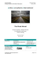 The Road Ahead Strategy Proposal Fo...
