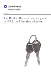 The road to IFRS - a revised guide ...