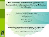 The Economic Importance of Agricult...