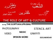 The Role of Culture & Arts in the E...
