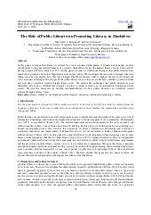 The role of public libraries in pro...
