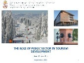 The role of public sector in touris...