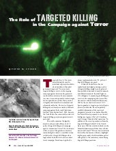 The Role Of Targeted Killing  In Th...