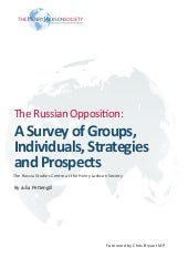 The Russian Opposition - Julia Pett...