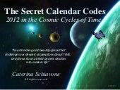 The Secret Calendar Codes: 2012 in ...