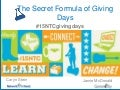#15NTC Session: The Secret Formula of Giving Days