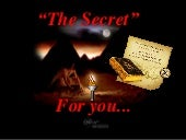 The Secret -The Law of the Attraction