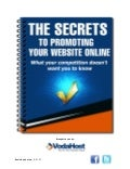 The Secrets to Promoting Your Website Online