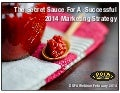 The Secret Sauce For A Successful Health Club Marketing Strategy In 2014