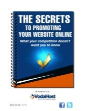 The Secrets to Promoting Your Websi...