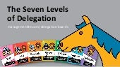 The Seven Levels of Delegation